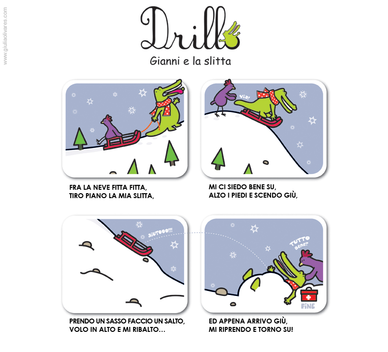 Drillo & Gianni: the Great Snowfall