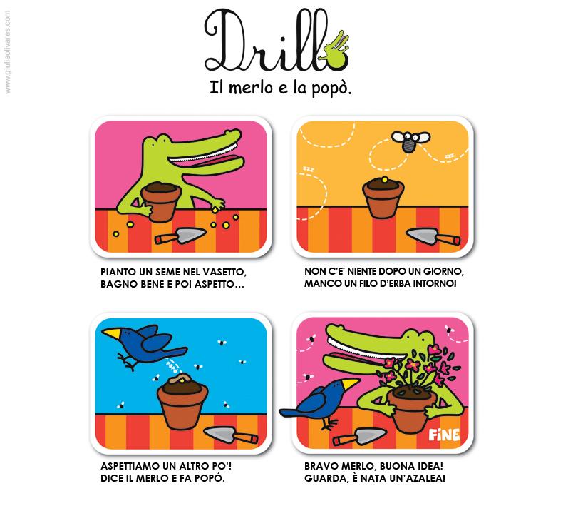 Drillo's first adventure